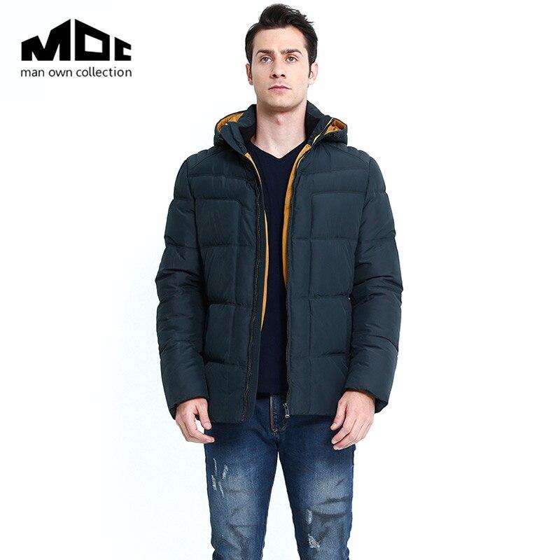 2017 Brand New Men Plus Size Cotton Padded Jacket Winter Warm Hooded Slim Coat Parkas M-XXXL winter brand new men winter cotton down jackets for men winter hooded jacket men winter coat plus size xxxl
