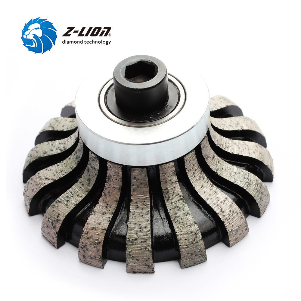 Z-LION Segmented Router Bit F20 M10 Thread Diamond Profile Wheel For Granite Marble Coutertop Make Edge Abrasive Grinding Wheel high quality inner segmented diamond wheel 150 8 10 abrasive wheel for glass straight edge machine and double edge machine