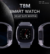 RsFow Sport Smart Watch T8M with Heart Rate Tracker Passometer Bluetooth Watch support Android&ios Phone Upgraded version M26