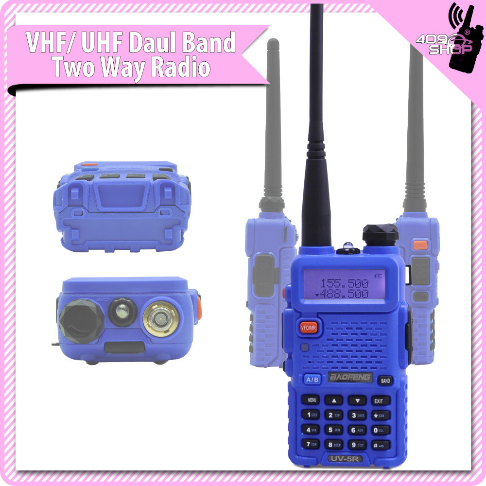BAOFENG uv-5r chaud nouveau uv5r talkie-walkie double bande 136-174/400-480 Mhz radio émetteur-récepteur radio bidirectionnel