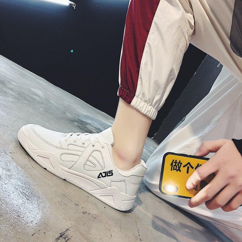 Peu À Hommes Profonde Solide Décontractées Lacets Sneakers Printemps Noir blanc Autumm Pour Mode Décontracté Vulcaniser Chaussures kaki Designer Plat ZqOOvIw