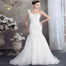 Жанна любовь Русалка кружевное свадебное платье 2019 Модные