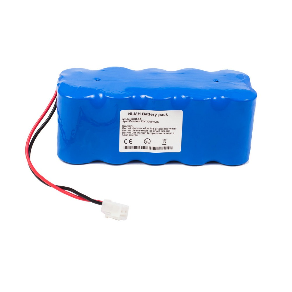 new battery for SXD-6A ECG EKG Vital Signs Monitor Battery replacement nihon kohden sb 201p x076 battery nihon kohden pvm 2700 pvm 2703 pvm 2701 ecg ekg monitor battery high quality