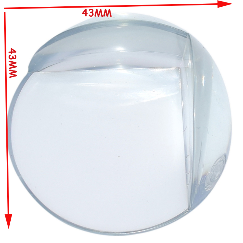 Free Shipping 4 Pcs Per Lot PVC Clear Edge Baby Safety Corner Protector,In Corners Of Table Cabinet Desk Sharp Corner