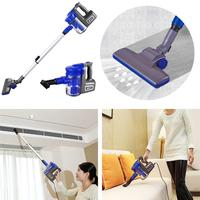 Handheld Cordless Vacuum Cleaner Portable Wireless Vacuum Cleaner Sweep Strong Suction Aspirateur Voiture Blue Home Cleaning