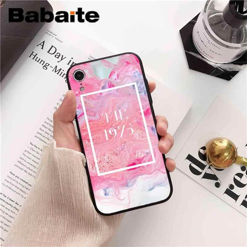 Мягкий чехол для телефона Babaite 1975 Songs с узором из ТПУ для iPhone 5 5Sx 6 7 7 plus 8 8 Plus X XS MAX XR 10 чехол Fundas Capa