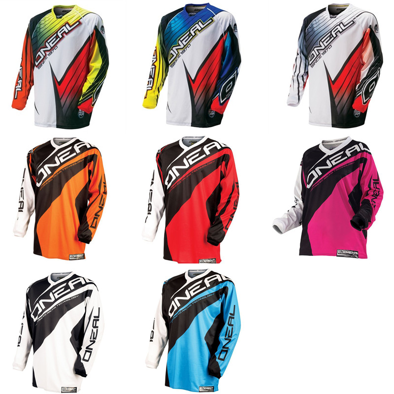 ONEAL MX Off-road Motorcycle Racing Speed Dry T-shirt Riding Jacket Male Long Sleeved Summer DH Speed Surrender