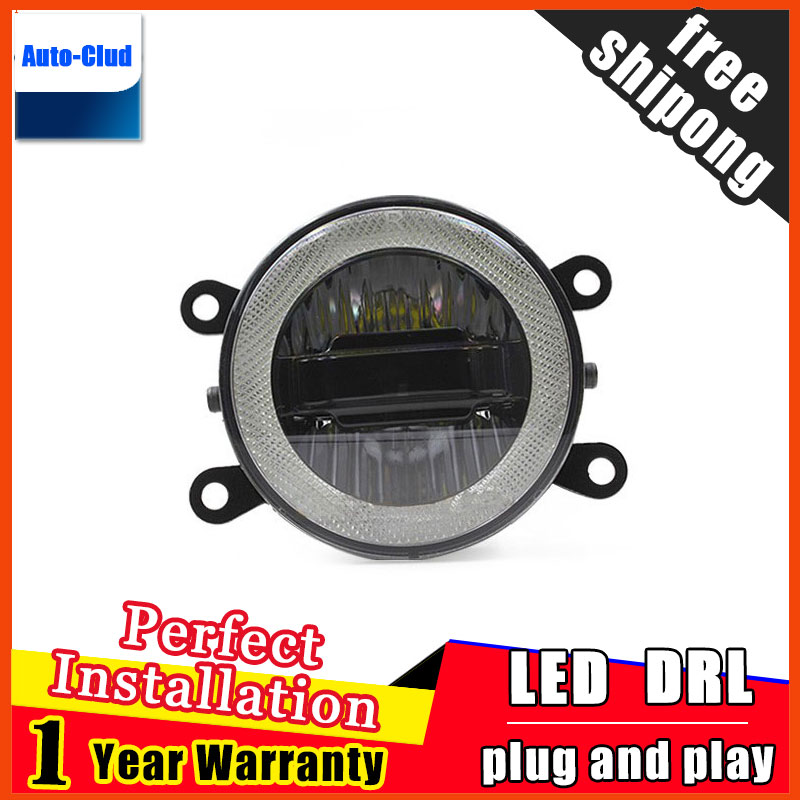 Car Styling Daytime Running Light for Infiniti EX LED Fog Light Auto Angel Eye Fog Lamp LED DRL 3 function model free shipping rgb 300mm 513 led swimming pool light 316l stainless 12v resin filled 18 24 35w swimming pool pond led light lamp