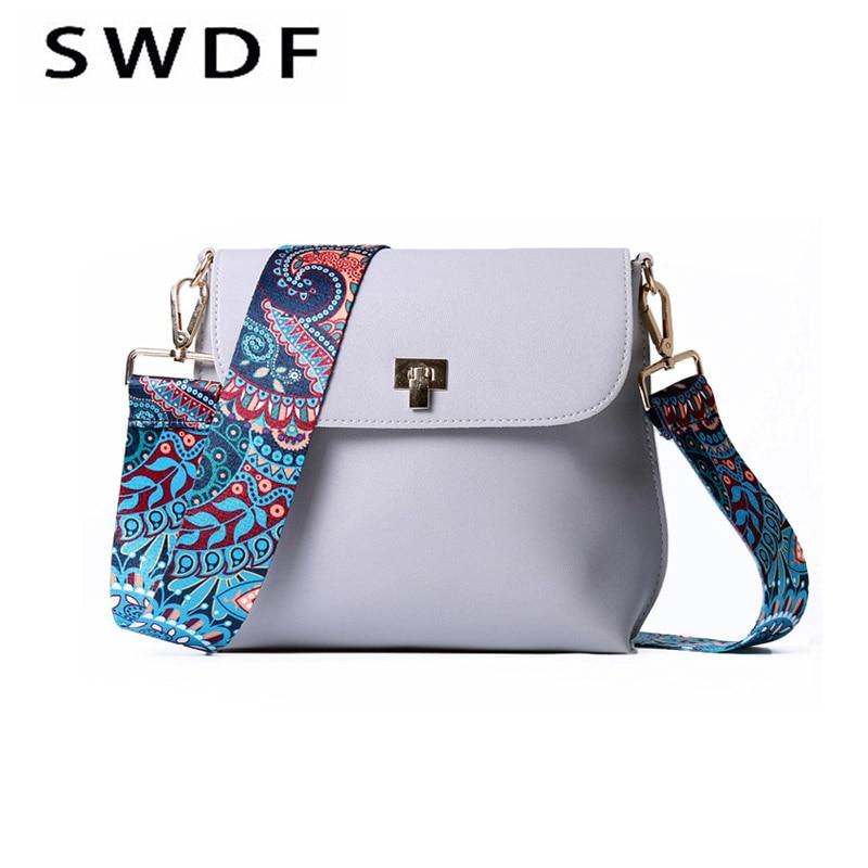 SWDF bolsas de luxo mulheres sacos de designer handbags high quality bolsos multicolour wide shoulder strap women messenger bags silla de director plegable de madera con bolsas para maquillaje pelicula studio hw46460