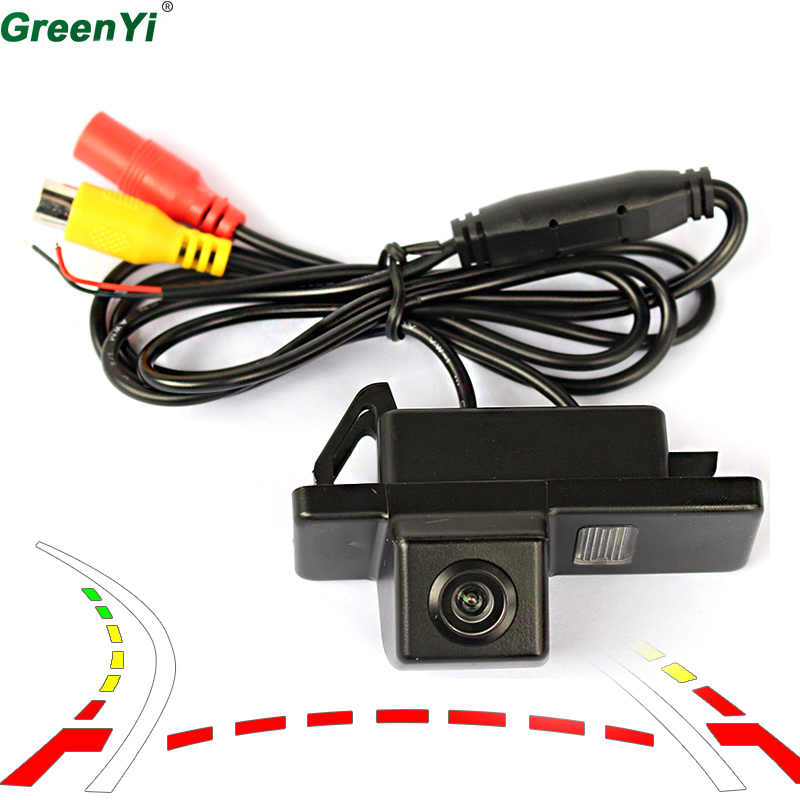 Dynamic Track Car Rear View Camera For Nissan Qashqai X Trail Geniss Pathfinder Dualis Sunny 2011 Juke Car Parking Camera