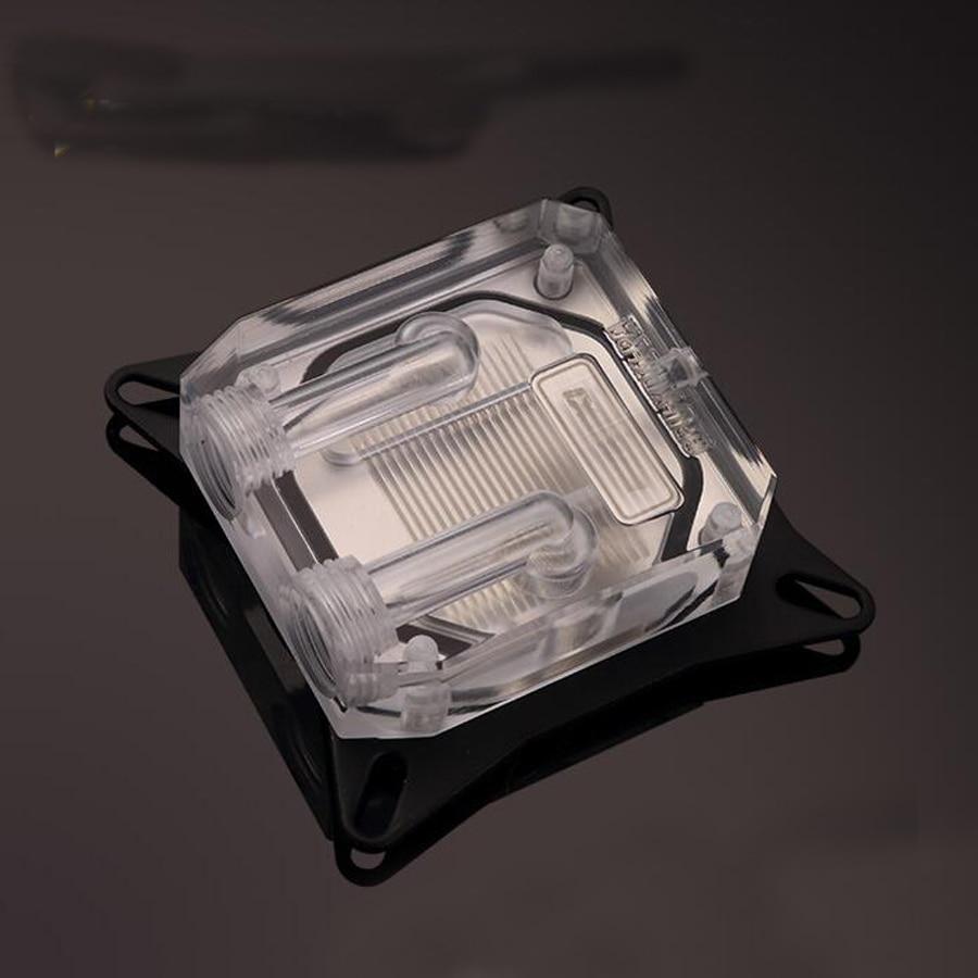 Transparant platform Common Suit 53-61 mm Pitch GPU waterkoelingblok - Computer componenten - Foto 2