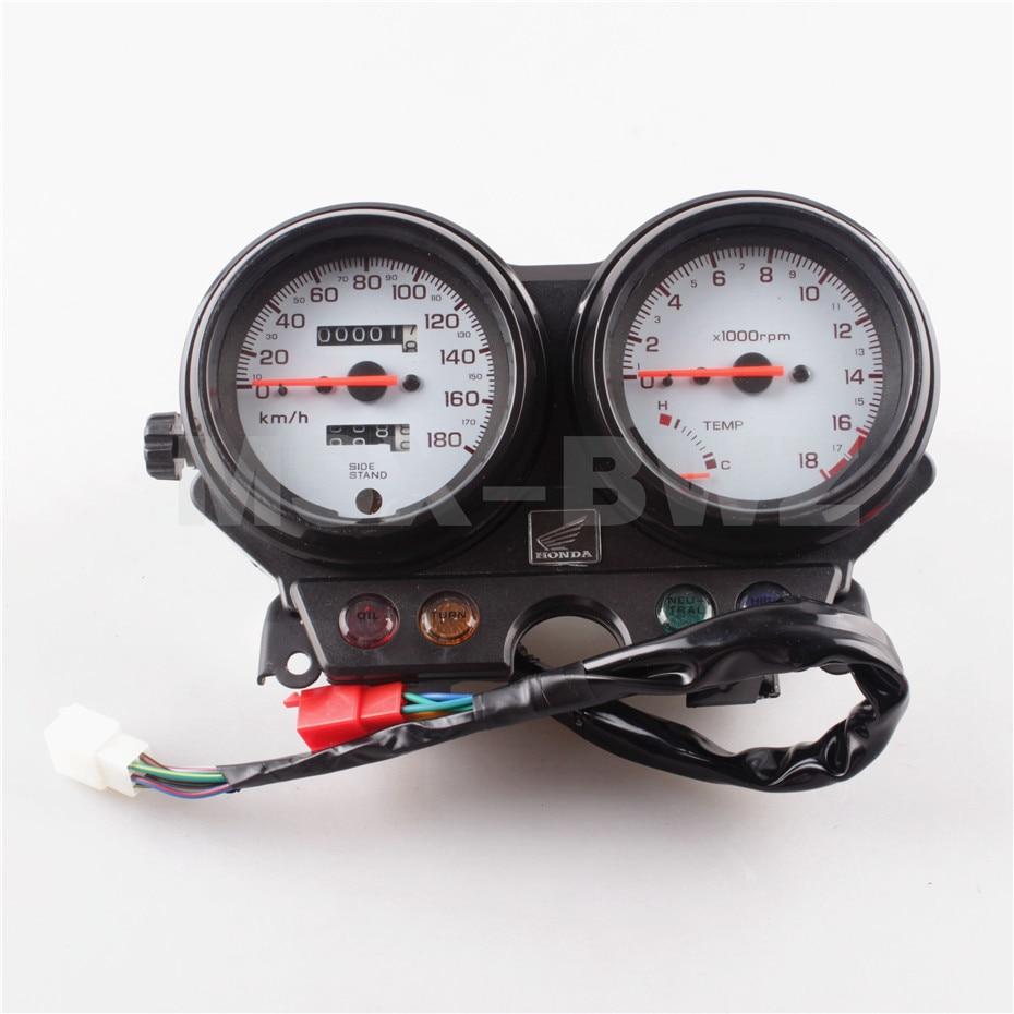Black Speedometer Tachometer Speedo Gauge Instrument For HONDA HORNET 250 1998 1999  Motorcycle Speed Clock