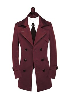 Red khaki black Black 2020 spring fashion casual slim double breasted mens trench coat overcoat plus size 5XL 6XL 7XL 8XL 9XL