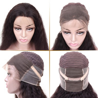 Lace Front Human Hair wigs 360 Lace Frontal Wigs For Black Women Pre plucked With Baby Hair Brazilian Natural Wave Wigs Non Remy