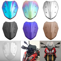 Areyourshop Motorcycle ABS plastic Windscreen Windshield for BMW S1000XR 2014 2019 2015 2016 2017 Motorcycle Accessories