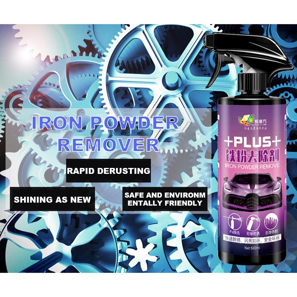 Car Wheel Paint Surface Iron Powder Remover Body Derusting Car Paint Rust Oxide Layer Cleaning Agent Decontamination Car Clean-in Spot Rust & Tar Spot Remover from Automobiles & Motorcycles