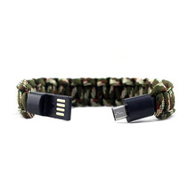 USB Cable Bracelet Charging For iPhone X 5S 6 7 8 Plus Wearable Wristband Wrist Band Charger Cable for iPhone Charger Bracelet