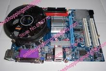 G41 set motherboard 3.2g dual-core fan bundle