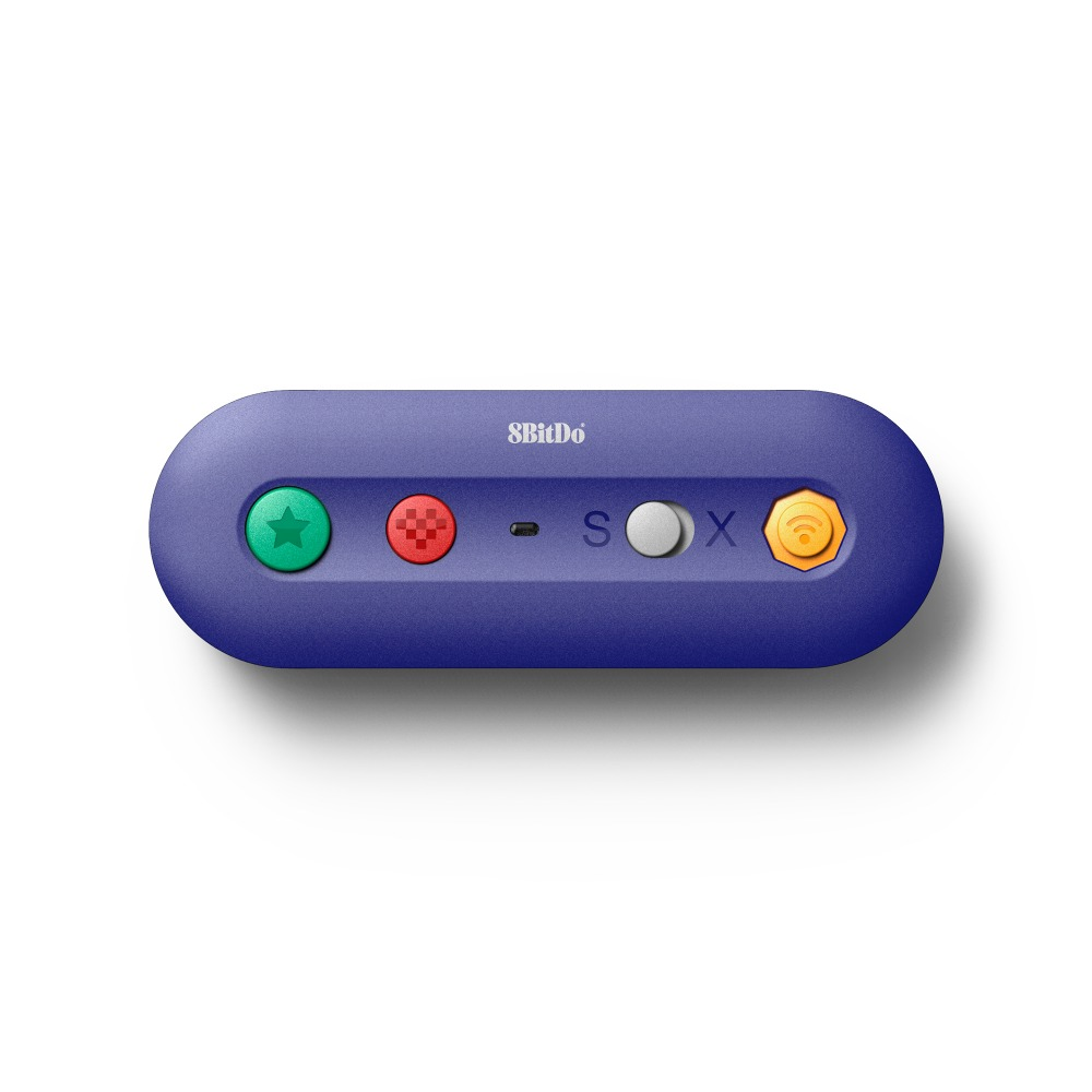 8 bitDo GBros adaptador inalámbrico para NES SNES SF-C clásico edición clásico de Wii para interruptor de Nintendo Gamecube