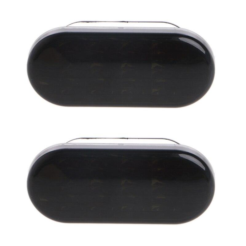 1 Pair Smoke Side Marker Turn Light 8 LED For VW Volkswagen Golf Jetta Passat Car Light Assembly