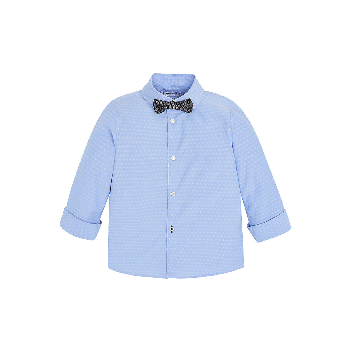 Blouses & Shirts MAYORAL 10690354 Children s Clothing shirt with long sleeve for a boy natural materials long sleeve color block chambray shirt