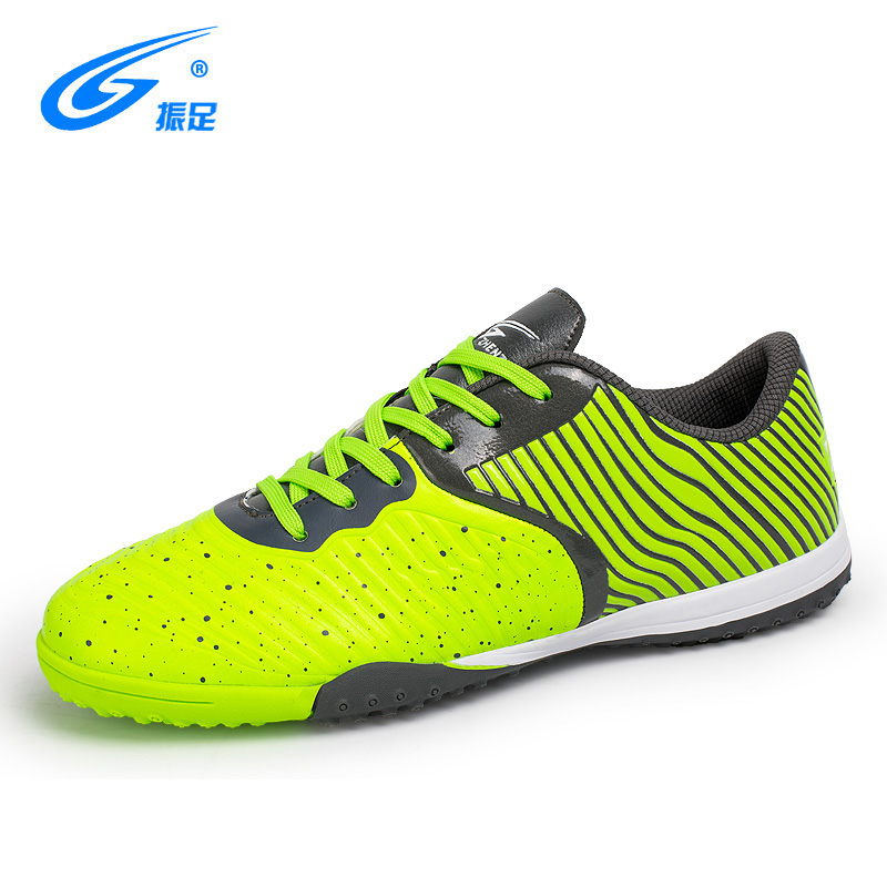 ZHENZU 2017 Football Shoes Kids Soccer Training Shoes Outdoor Lawn Breathable Soccer Boots Children Kids Name Brand Shoes peak sport men outdoor bas basketball shoes medium cut breathable comfortable revolve tech sneakers athletic training boots