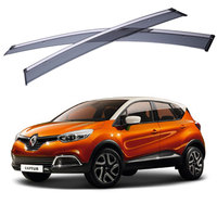 For Renault Captur 2014 2015 2016 Window Visors Awnings Shelters Rain Sun Deflector Guard Vent Protector