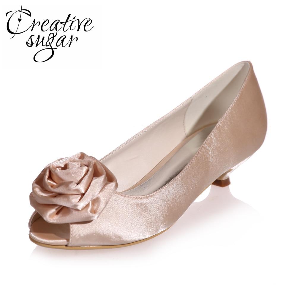 Soirée Chaussures Argent 3d Mariage Fleur Med Creativesugar Robe Événement Rose Bleu Blanc Bas Élégant De Doux Dames Violet Talon z1wqqBAP