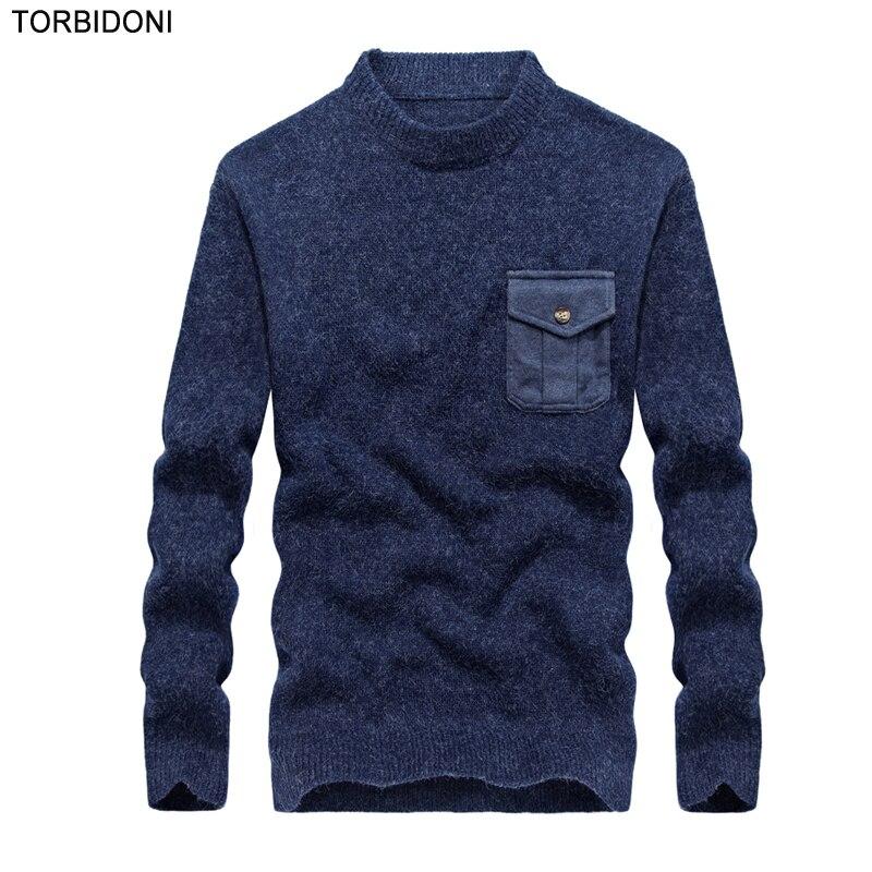 2017 New font b Men s b font Fashion Autumn font b Sweater b font coat