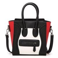 2018 neue Berühmte Designer Marke Luxury Pu-leder Handtaschen Mode Lächeln Gesicht Einkaufstasche Hohe Qualität Smiley Frauen Tasche