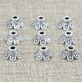 7x4mm Hot Fashion 200pcs/lot Small Receptacle DIY Antique Silver Beads Caps Accessories Jewelry Findings & Components