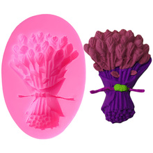 Bar Rose Flowers Mold Cake Tools Decorating 3d Silicone Molds Wedding Stand Lace Fondant Baking For Cakes