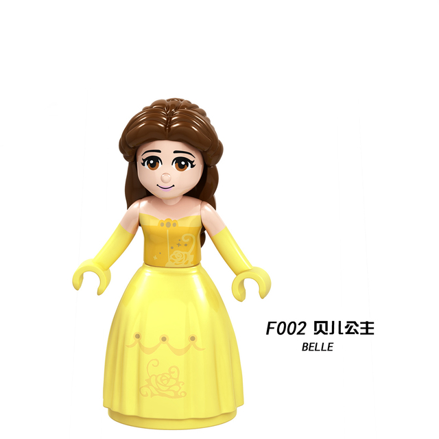 Legoing Princess Friends Girls Figure Building Blocks Educational Brick DIY Toys Kids Children Birthday Christmas Gifts Legoings | Model Building