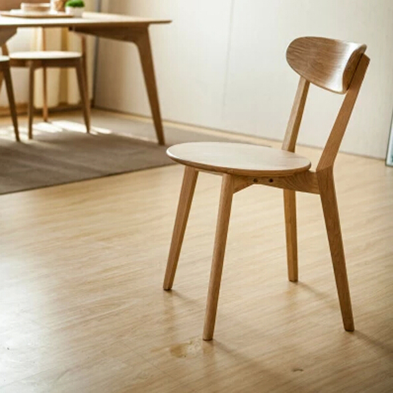White Oak Living Room Chair Original Design In Living Room