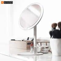 Xiaomi Mijia AMIRO HD Spiegel Dimmbare Einstellbare Arbeitsplatte 60 Grad Rotierenden 2000mAh Tageslicht Kosmetische Make-Up Led Spiegel 2
