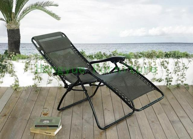 rattan garden floding sun loungersoutdoor furniture - Garden Furniture Loungers