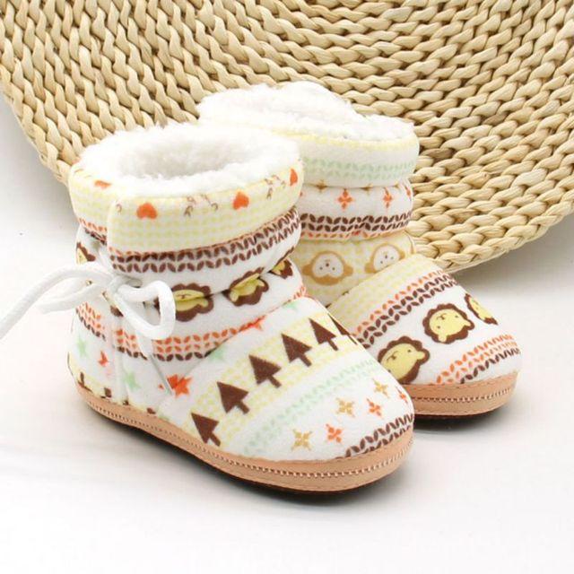 Обувь для младенцев малыша Обувь для девочек и мальчиков зимние детские Сапоги и ботинки для девочек теплый флис Для детей Зимние Сапоги и ботинки для девочек Bebek ayakkabi