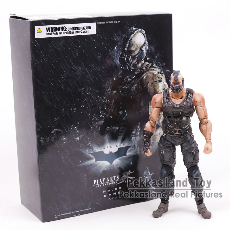 Batman The Dark Knight Rises Trilogy Bane Play Arts Kai PVC Action Figure Collectible Model Toy 22cm crazy toys the dark night rises batman assembly pvc action figure collection model toy 22cm