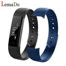 Bluetooth Smart Браслет Шагомер Фитнес трекер шаг счетчика умный Группа сна Мониторы спортивные часы браслет PK mi Группа 2