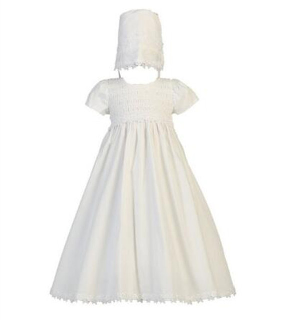02c2d780bf08 Vestidos Toddler Baptism Gown Baby Girl Christening Dress 0-24month White Ivory  Baby Boy Robe Free Shipping