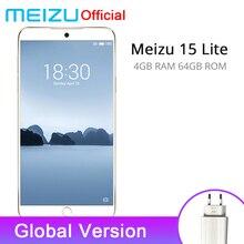 Resmi Meizu 15 Lite 4 GB 64 GB Küresel Sürüm Cep Telefonu Snapdragon 626 Octa Çekirdek 5.46