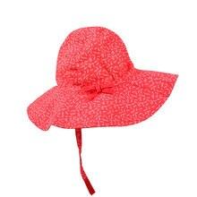 Шляпа с широкими полями для девочек; пляжная шляпа для маленьких девочек; шляпа от солнца с милым бантом для малышей; Детская кепка; уличная Панама; От 0 до 5 лет
