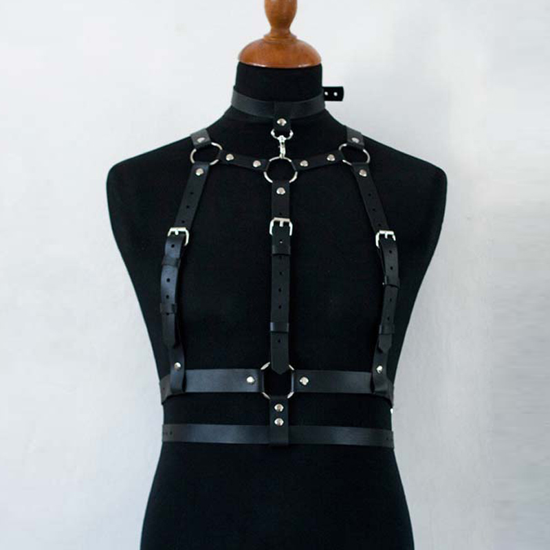Harness Men gg Belt Bondage Belt Men Pu Leather Gay Suspenders Pastel Goth Arnes Mujer Garter Gothic Seks Stockings Sexy Cosumes