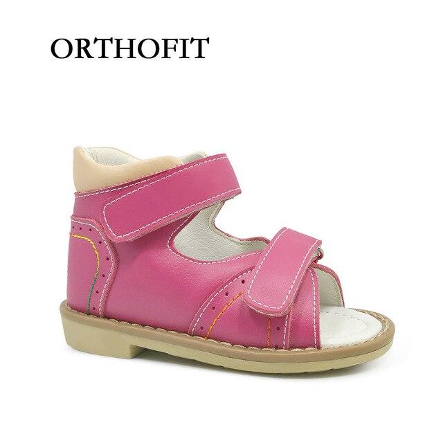 Fashionable New Design Kids Orthopedic Shoes Girls Beautiful Summer Sandals