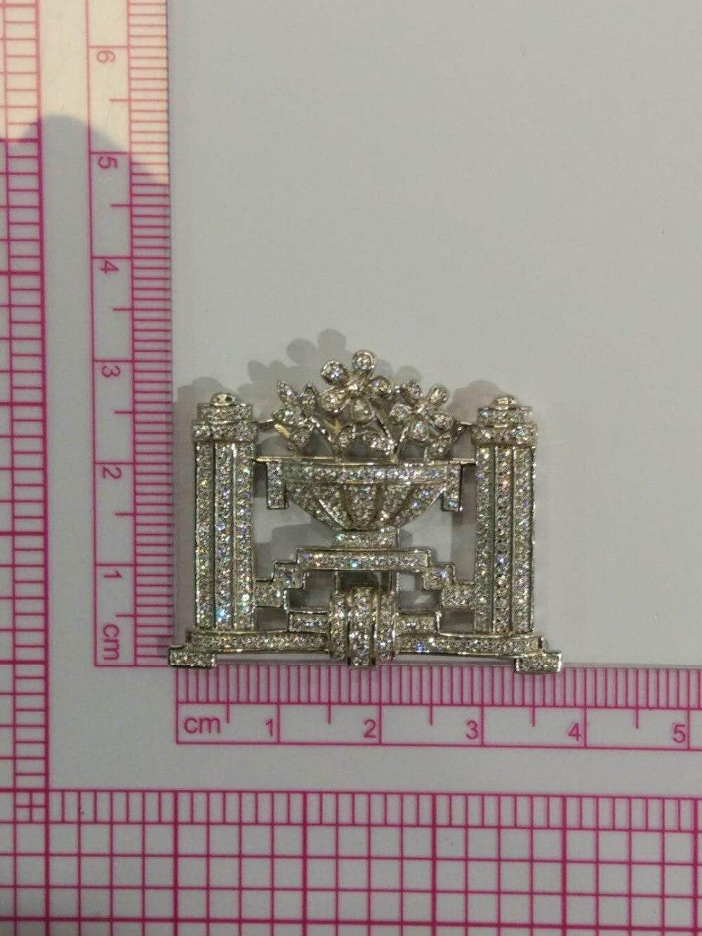 Connecteurs pour collier ou bracelet 925 en argent sterling avec zircon cubique fleur bijoux de mode résultats de bijoux à bricoler soi-même
