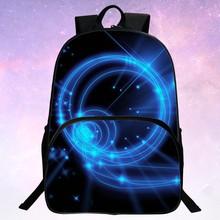 Schönheit 2016 Polyester Druck Sternenhimmel Mann Taschen Schwarz Kinder Rucksack Für Jugendliche Mochila Frauen Schultaschen Kinder