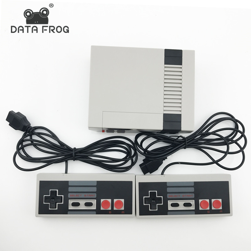 Data Frog Mini TV Game Console 8 Bit Video Game Built In 620 Classic Games Handheld Games Consoles Support PAL & NTSC 4 styles hdmi av pal ntsc mini console video tv handheld game player video game console to tv with 620 500 games