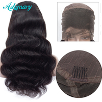 360 Lace Frontal Wig Pre Plucked with Baby Hair Body Wave Human Hair Wigs 360 Wigs for Black Women Natural Hairline Ashimary