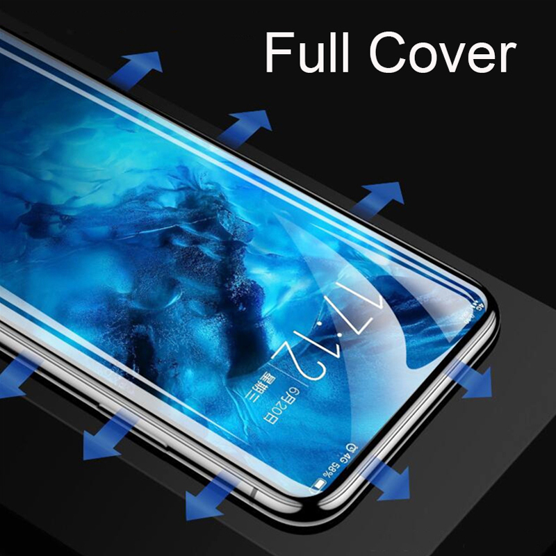 Full Cover Screen Protector Transparent Soft Hydrogel Film For Xiaomi 9 8 Lite Mix 3 Max 3 PocoPhoneF1 Redmi Note 7 6 5 Pro Film in Phone Screen Protectors from Cellphones Telecommunications