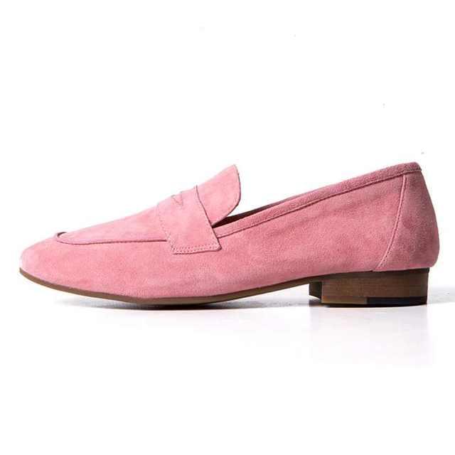 Nuevos zapatos de la marca de moda forwoman flock partido punta redonda de tacón bajo mujeres bombas talón grueso neutral sexy lady soft zapatos embarazadas 20